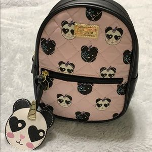 Mini betsey johnson backpack